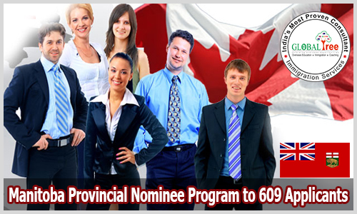 LAA issued from Manitoba Provincial Nominee Program to 609 Applicants